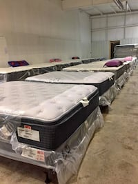 Liquidation brand new mattresses 50-80% off retail store price. Limited qty, first come first serve Sterling