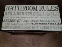 Bathroom Rules signage Hagerstown, 21740