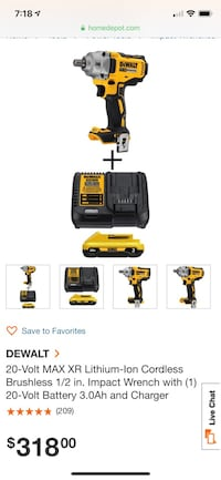 Black and yellow dewalt power tools Silver Spring, 20906