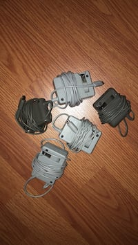 three white and two black Nintendo DS chargers Falls Church, 22046