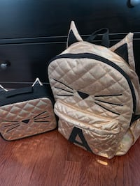 Justice backpack and lunch bag
