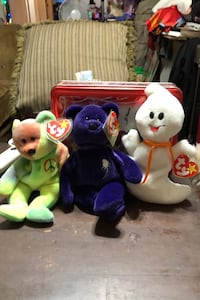 Plush TY beanie babies lot of 3 $45 each or all three for $100.00