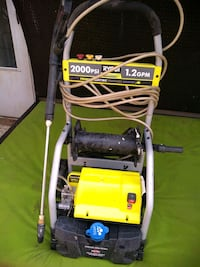 yellow and black pressure washer Woodbridge, 22193