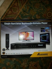 Acesonic Single Hard Dr Mltimdia Kareoke Player Hemet, 92544