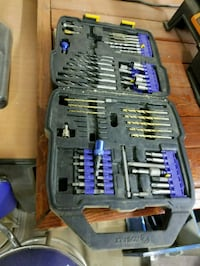 Box of Various drill bits and such. Middletown, 45044