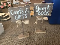 Cards and guest book signs  Keymar, 21757