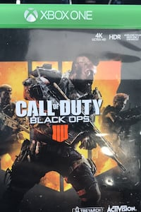 Call of duty: black ops 4 Xbox one  Newmarket, L3X 1S7