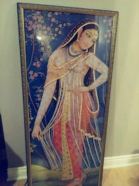 Unique South Asian framed print Toronto, M5R 3S3