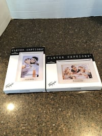 "Lot of 2 Brand new 4X6 clever captions picture frames "" sisters & friends"" $5 for both Manassas"