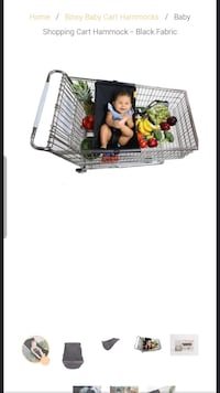 Baby hammock for shopping  Welland
