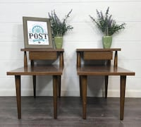 Mid century modern end table set  Canby, 97013