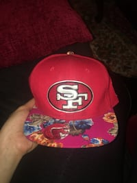 red, blue, and brown floral San Francisco 49ers cap Fort Worth, 76107