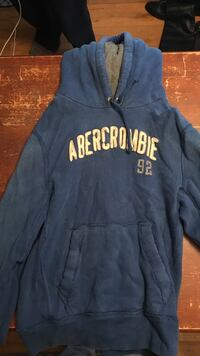blue and white Aeropostale pullover hoodie Knoxville, 37919
