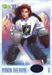 Manon Rheaume - Hockey Card. $3 Firm... Calgary