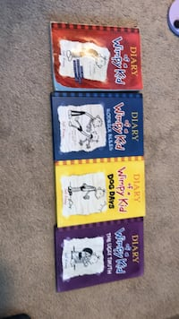Diary of a wimpy kid books 1 km