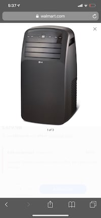 Almost new LG portable A/C 洛厄尔, 01852