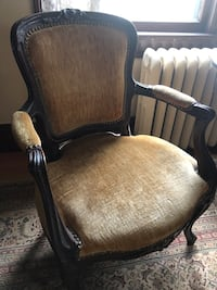 Antique Hand Carved Mahogany Arm Chair Rahway, 07065