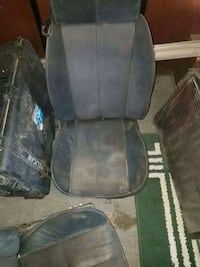 black and gray rolling armchair Moreno Valley, 92555