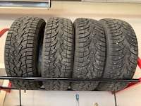 WINTER STEEL STUD TIRES Stony Plain, T7Z