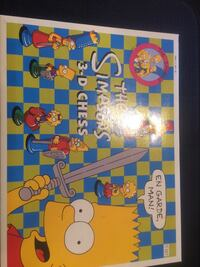 Simpsons 3-d chess set Dover, 03820