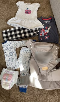 Baby carrier and baby clothes