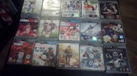 assorted PS3 game case lot Holly Springs