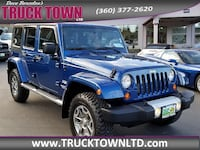 2010 Jeep Wrangler Unlimited 4d Convertible 4WD Sahara Bremerton, 98312