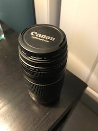 Canon 35mm zoom lens 75-300mm 625 mi