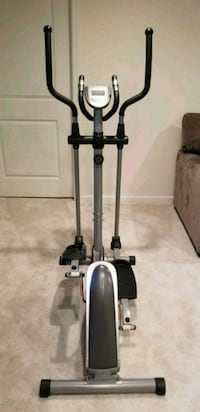 black and gray elliptical trainer Clifton, 20124