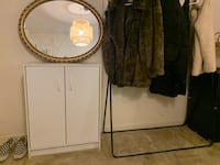 Multiple items - mirror, chest, garment rack Arlington, 22209