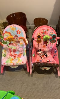 Fisher Price bouncy seats
