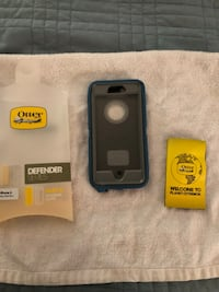 Otterbox defense case for iPhone 6 - deep water blue color Manassas, 20109