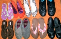 8 Pairs of ladies shoes!!! Size 7 1/2!!