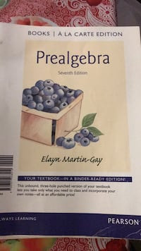 prealgebra 7th edition Los Angeles, 90744