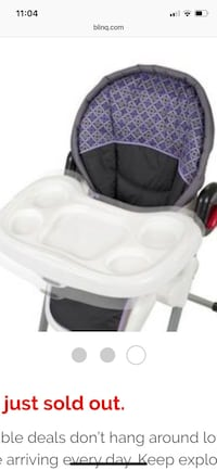 Baby Trend Baby High Chair - Athena Ashburn, 20147