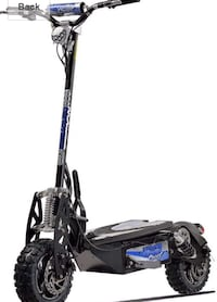 Adult size electric scooter.Uberscoot 1600w (28+ Mph) (20+ mile range) Laguna Beach, 92651