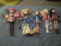 Ever after high dolls new! Goodyear, 85338