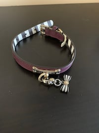 Extremely Rare Henri Bendel Dog Collar w/Bow Charm Washington, 20002