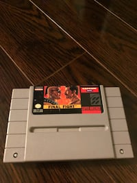 SNES SUPER NINTENDO FINAL FIGHT (Scarborough or Downtown) Toronto, M1S 1V9