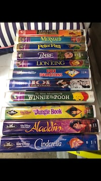 Many Disney VHS movies for sale Orangeville, L9W 4P7