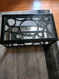 Moving sale !!!  ( Glass coffee table)