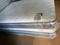 white and gray bed mattress West Palm Beach