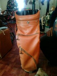 Arnold Palmer leather club bag 1075 mi