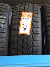 Great pair of used Uniroyal Tiger Paw Winter Tires 185/65/15 Toronto, M1P 2B4