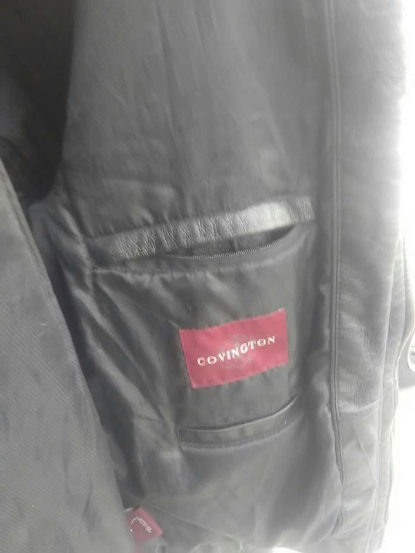 Used Covington Mens Soft Genuine Leather Jacket For Sale In Phoenix