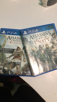 two Sony PS4 game cases 1181 mi