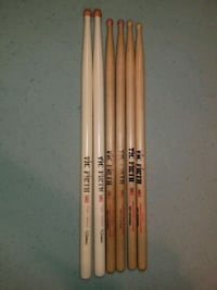 3 pairs of Vic Firth drum sticks Ralph Hardimon, S Needville, 77461