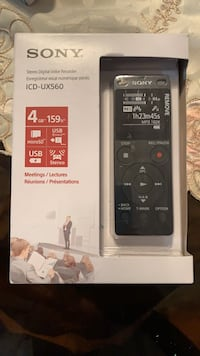Stereo Digital Voice Recorder