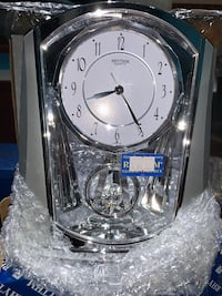 New Rhythm motion clock, 2 available
