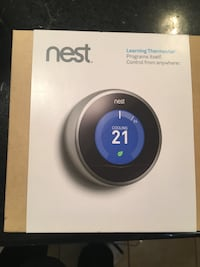 Brand New in Box Nest Learning Thermostats